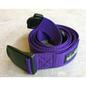 [WILD THINGS] PP WEBBING BELT 織帶皮帶(130cm)/紫(WT19154P-WT15)