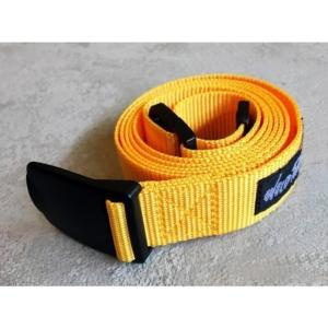 [WILD THINGS] PP WEBBING BELT 織帶皮帶(130cm)/黃(WT19154P-WT16)