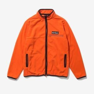 [WILD THINGS]  FLEECE MAGIC JUNPER 刷毛保暖外套-橘/黑 (WT21119PA-ORANGE)