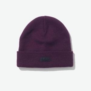 [WILD THINGS] WATCH CAP 可反摺毛線帽/紫 (WT21150U-PURPLE)