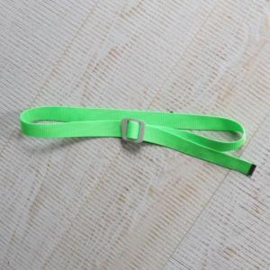 [WILD THINGS] BRIGHT WEBBING BELT 織帶皮帶(115cm)/螢光綠 (WT21151P-WT11)