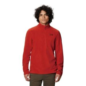 [Mountain Hardwear] 男款 Microchill™ 2.0 Zip T-Shirt/紅漠 (1677261-831)