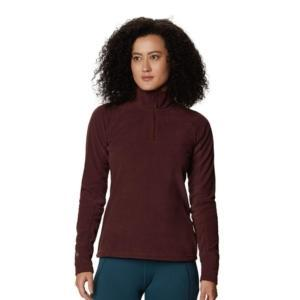 [Mountain Hardwear] 女款 Microchill™ 2.0 Zip T-Shirt/水洗葡紫 (1677371-629)