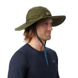 [Mountain Hardwear] Exposure/2™ Gore-Tex® Paclite Rain Hat/深軍綠 (1878091-304)