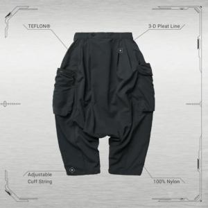 "[GOOPiMADE] MP-03B ""CARTRIDGE"" Slack-Cargo Pants – Gray 深灰"