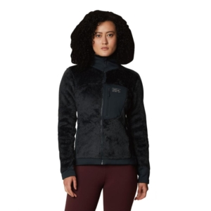 [Mountain Hardwear] 女款 Monkey Fleece Jacket 保暖刷毛外套 /深風暴灰 (1902521-004)