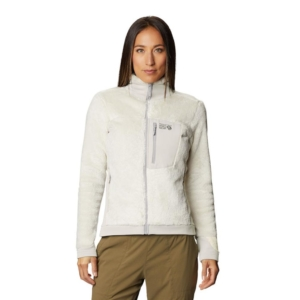 [Mountain Hardwear] 女款 Monkey Fleece Jacket 保暖刷毛外套 /石灰色 (1902521-022)