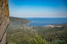 Blick vom Monte Perone Torre die San Giovanni