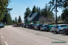 Parkplatz Bergstation Lac Blanc