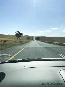 Linksverkehr Strassen in Südafrika