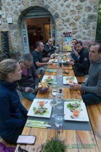 Dinner Auber du Col de Brouis