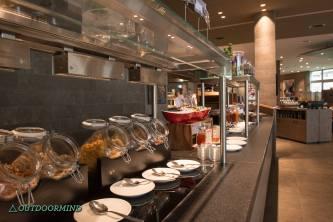 Frühstück im Hotel Ameron Davos