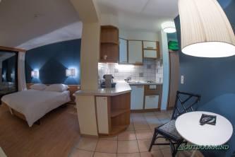La Barca Blu Zimmer mit Küchenzeile