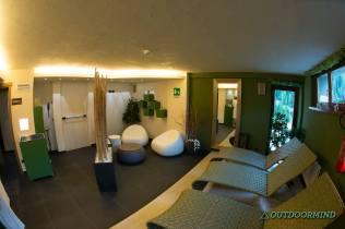Spa Bereich im Hotel Vedig