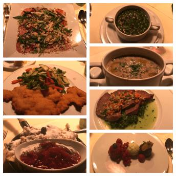 Österreichische Küche im Dirndlstüberl Hotel Goldener Berg