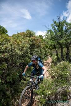 Biken in Baunei