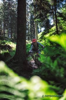 Leiterberg Trail in Sölden