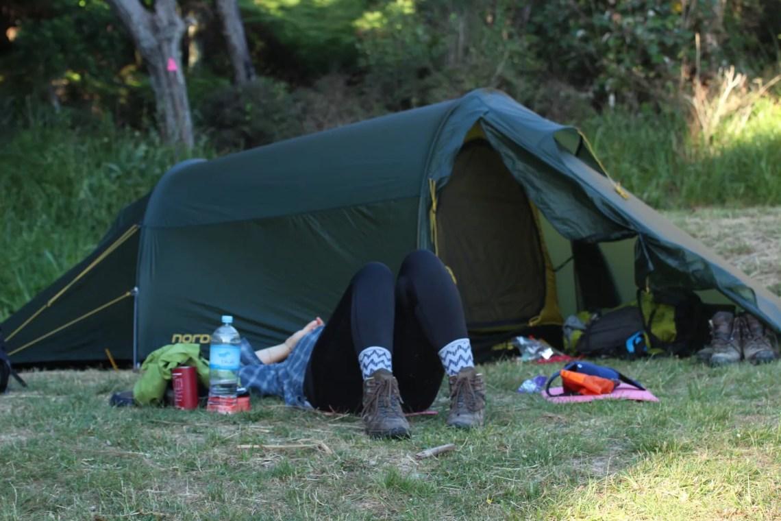 Zelten Te Araroa Wandern Neuseeland