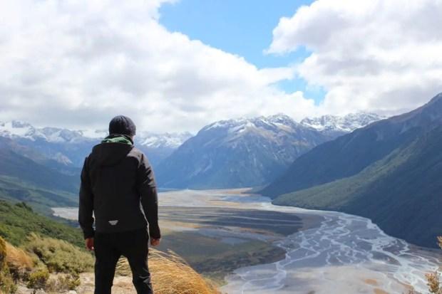 Wanderwege Neuseeland Bealey Spur Track