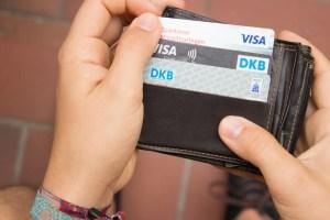 Kreditkarte für deine Reise