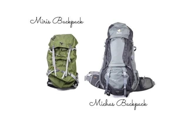 Backpacker Ausrüstung: das sind unsere Rucksäcke