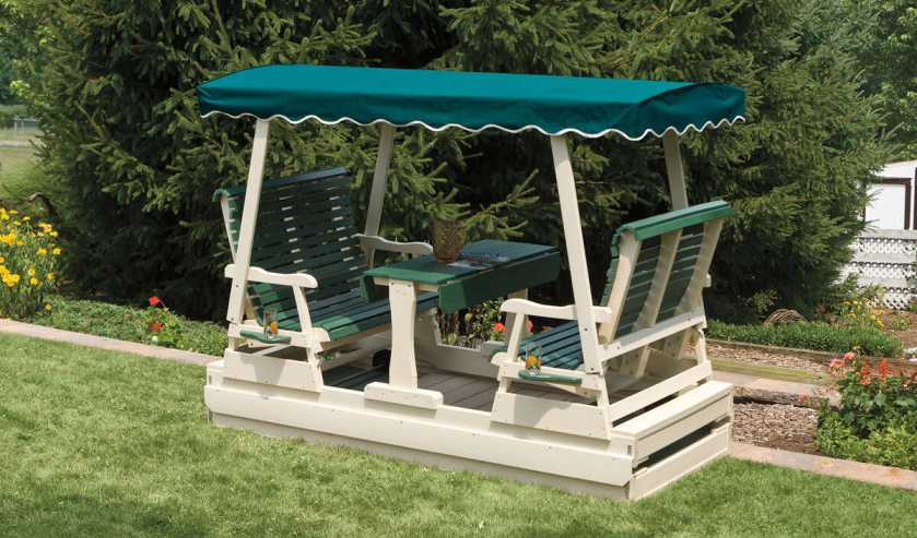 lawn and patio swings gliders