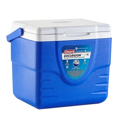 Coleman Personal 9QT Excursion Cooler blue