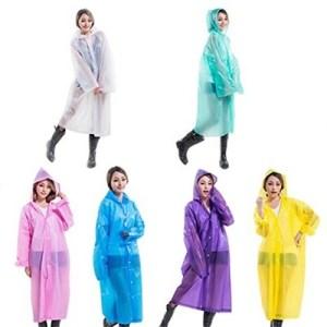 EVA Rain Coat various colour