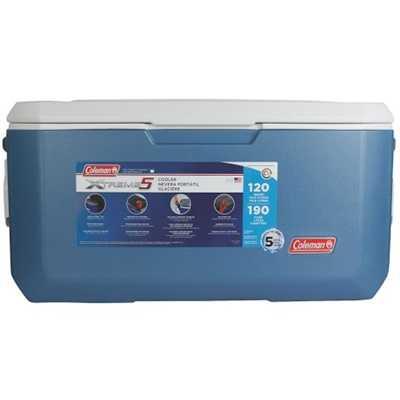 Coleman Cooler 120QT Xtreme blue