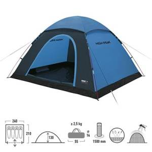 High Peak Monodome XL blue-grey