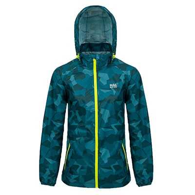 Mac In A Sac Edition Jacket XXS teal camo