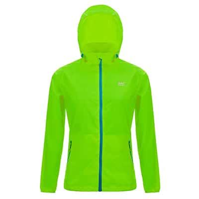 Mac In A Sac Neon Adult Jacket L green