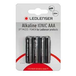 LED Lenser AAA Alkaline IONIC Batteries