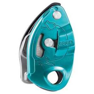 Petzl Grigri Belay Device (2019) blue