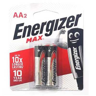 Energizer Max AA Battery 2pcs
