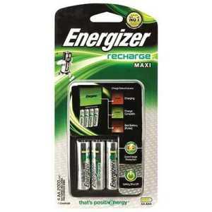 Energizer Recharge Maxi Charger 4AA 2000mAh
