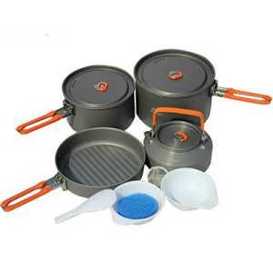 Fire Maple Feast 4 Cooking Pot Set orange