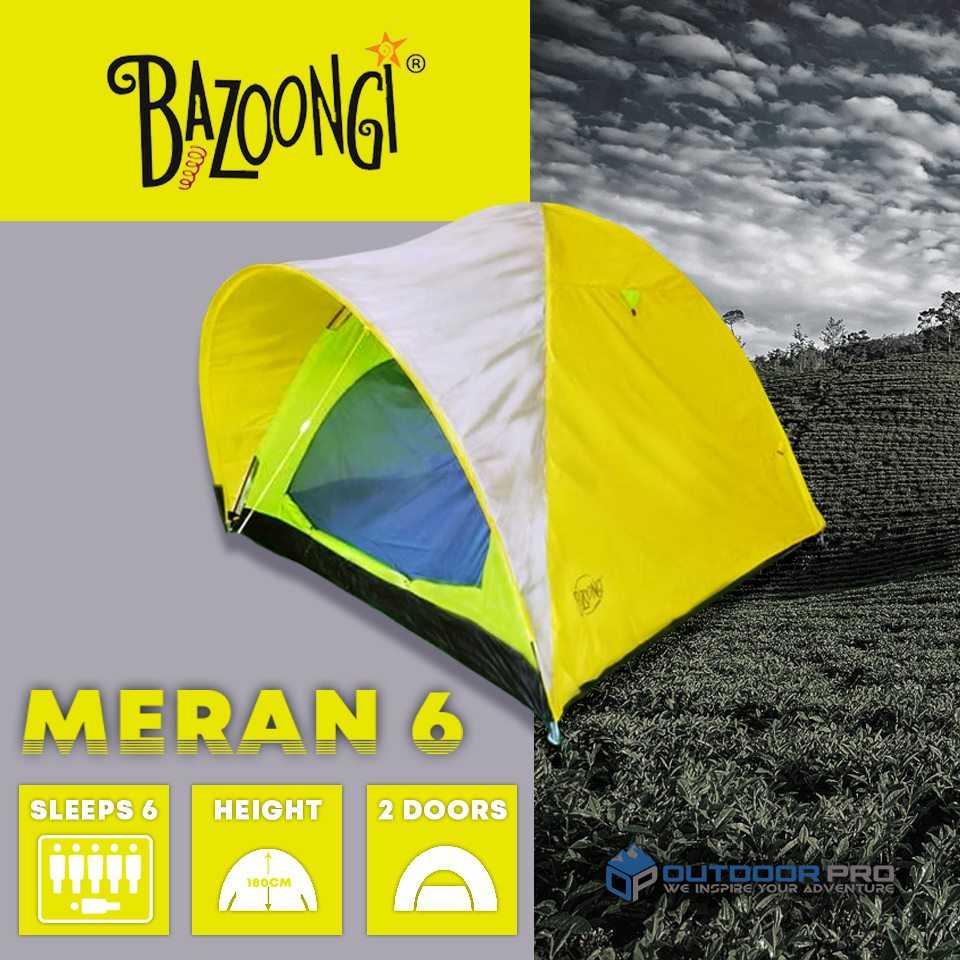 Bazoongi Meran 6 Persons Dome Tent