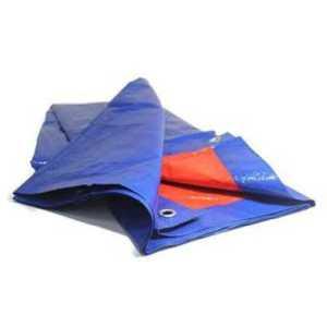 ODP 0571 Groundsheet 8' x 8' blue orange