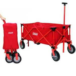 Coleman Wagon red