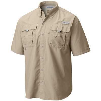 Columbia Bahama II Short Sleeve Shirt S fossil