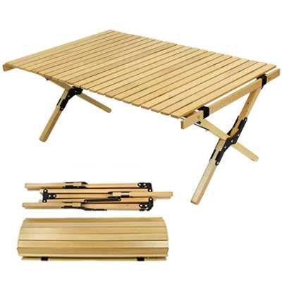 ODP 0583 Wooden Folding Table 120cm