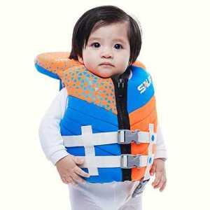 Sauf ODP 0592 Neovi Baby Life Jacket Under 14 KG orange blue