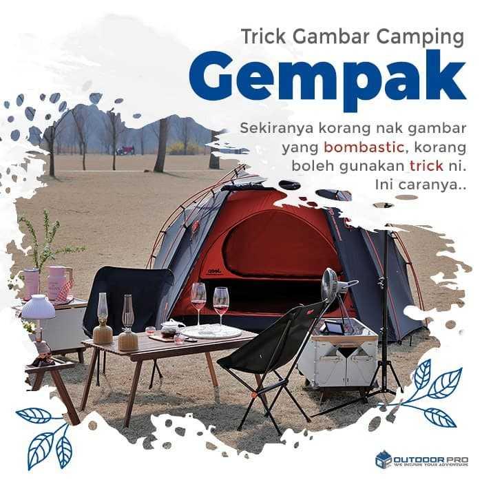 TRICK GAMBAR CAMPSITE BOMBASTIC