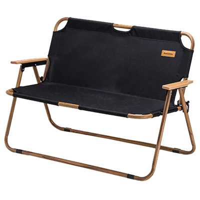 Naturehike Outdoor Folding Double Chair black