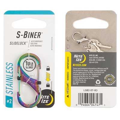 Nite Ize S-Biner Slidelock #2 spectrum