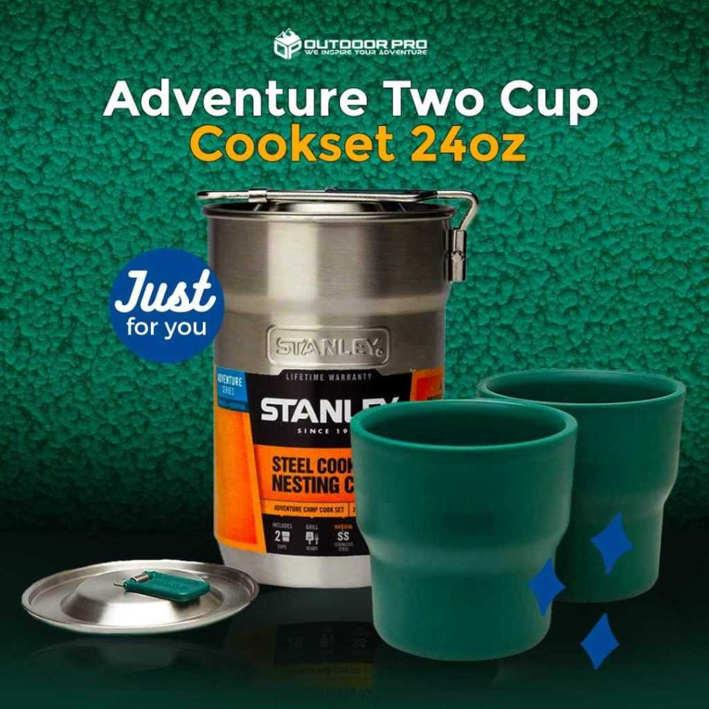 STANLEY ADVENTURE TWO CUP COOKSET 24OZ