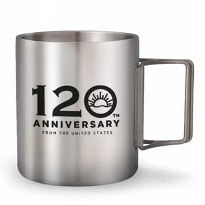 Coleman ODP 0634 Double Stainless Mug 120th Yrs Limited Edition 2021 350ml black