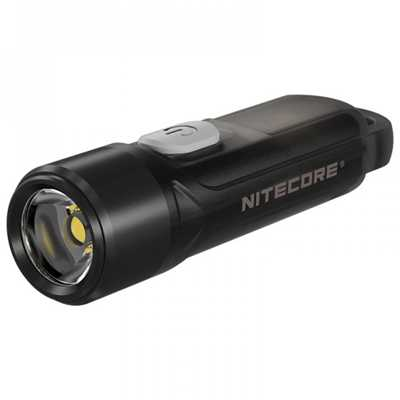 Nitecore TIKI LE with Red & Blue LED Keychain Rechargeable Flashlight