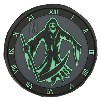 Maxpedition REAPZ Reaper Morale Patch Glow-In-The-Dark